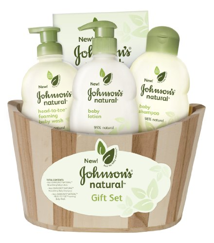 Johnson's Natural Gift Basket