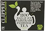 Clipper Fairtrade Everyday One Cup Tea Bags (1100 Bags)