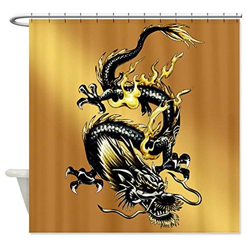 Detail Shop CafePress Dragon Shower Curtain