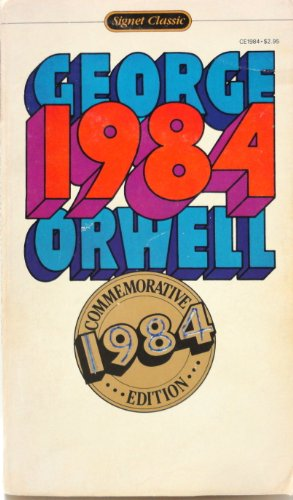 1984: A Novel (Commemorative Edition), George Orwell
