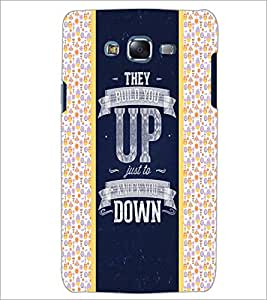 PrintDhaba Quote D-4821 Back Case Cover for SAMSUNG GALAXY ON 5 (Multi-Coloured)