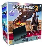 echange, troc Console PS3 320 Go noire + Uncharted 3 : l'illusion de Drake