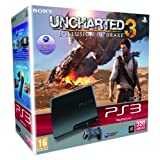 Console PS3 320 Go noire + Uncharted 3 : l'illusion de Drakepar Sony