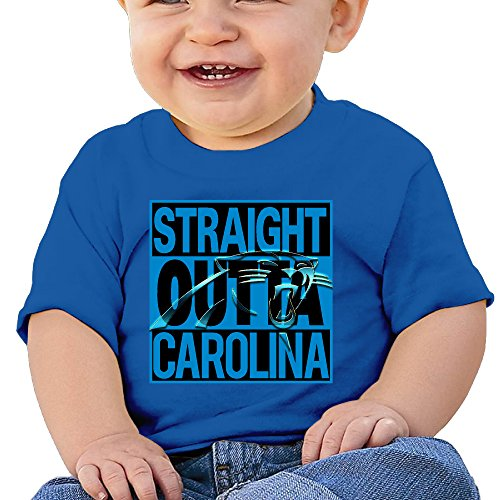GAOXIG Straight Out Carolina Unisex Baby T-Shirts (6 To12 Months) RoyalBlue