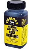 Fiebing's Leather Sole & Heel Brown Edge Dressing, 4 Oz. - Gloss Shoe Dressing