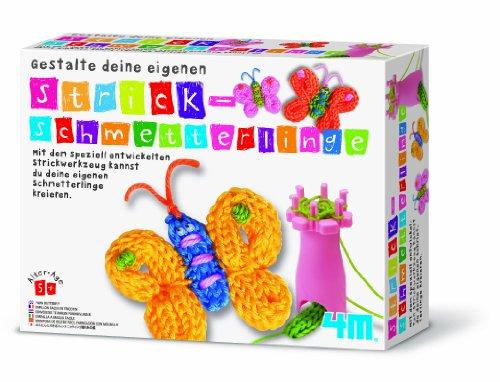 4M 68166 - Gestalte deine Strick-Schmetterlinge