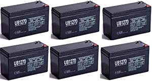 General Power GPS5006 Replacement Battery 12V 7Ah - 6 Pack