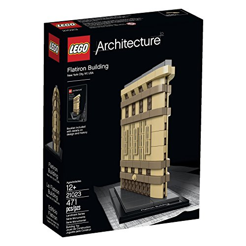 New LEGO Architecture 6101026 Flatiron Building