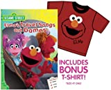 Sesame Street: Elmos Travel Songs and Games (With Bonus Elmo T-Shirt)