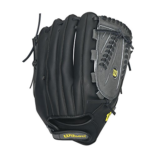 Wilson A360 Slowpitch Softball Glove, Grey/Black/White, Right Hand Throw, 13-Inch (Mens Slow Pitch Softball Gloves compare prices)