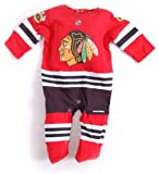 Reebok Chicago Blackhawks Newborn Uniform Onesie Jersey (0 - 3 Month) at Amazon.com