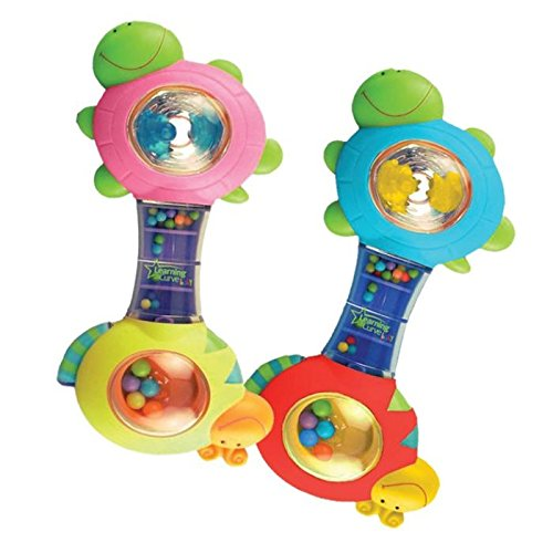 Tomy The First Years Shakin' Shell Rattle - 3+M EA (Pack of 3)