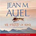 The Shelters of Stone (       UNABRIDGED) by Jean M. Auel Narrated by Rowena Cooper