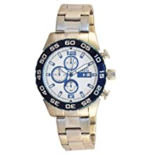 buy Invicta Men'S 13675 Specialty Chronograph Silver Dial Stainless Steel Watch
