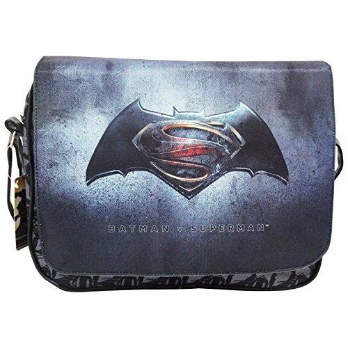Dc Comics Batman vs Superman Justice Borsa a Spalla a Tracolla Porta Tablet Ipad Ebook