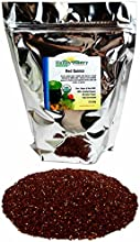 Organic Red Quinoa Grain 25 Lb - Non-GMO Sprouting Seeds Cooking amp Recipes Pilaf Cereal Grinding f
