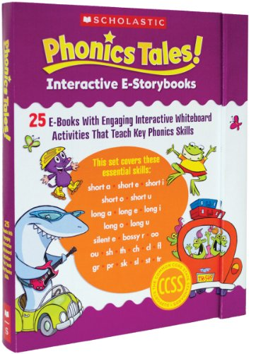 Phonics Tales! Interactive E-Storybooks: 25 E-Books