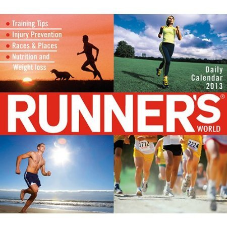 2013 Runner'S World Box / Page-A-Day Desk Calendar