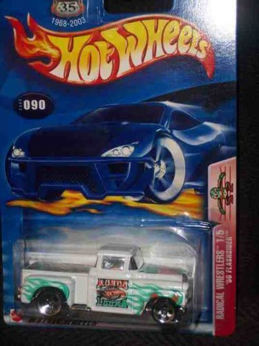 Radical Wrestlers Series #1 56 Flashsider #2003-90 Collectible Collector Car Mattel Hot Wheels - 1