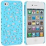Light Blue Birds Nest Snap-On Hard Back Cover Case f�r Apple iPhone 4 4G 4S