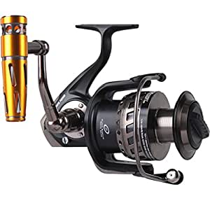 Noeby saltwater spinning reel full metal body for Amazon fishing rods and reels
