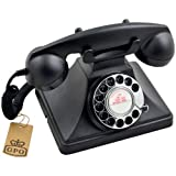 Special Price for  GPO 200 Classic Retro Rotary Dial Telephone - Black