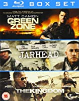 3 Film Box Set: Green Zone/Jarhead/The Kingdom [Blu-ray]