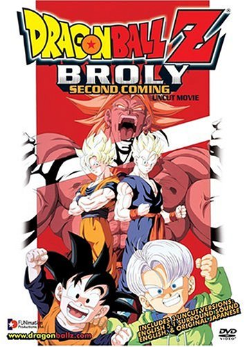 DragonBall Z Broly The Second Coming: Uncut Movie (REGION 1) (NTSC) [DVD] [US Import]