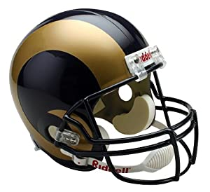 Riddell St. Louis Rams Deluxe Replica Football Helmet by Riddell