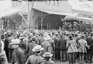 1908 Photo Taft Campaign Train St Joseph Mo