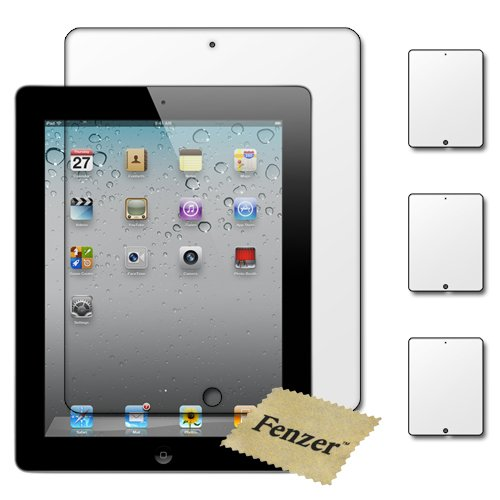 Apple iPad 2 - 3 Premium Clear LCD Screen Protector