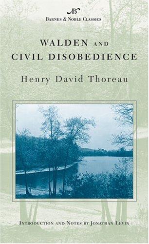 Walden and Civil Disobedience (Barnes & Noble Classics Series) (B&N Classics)