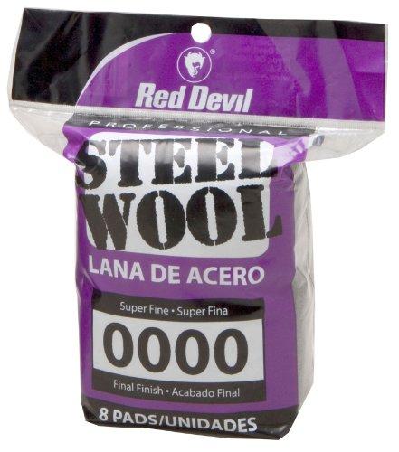red-devil-0320-steel-wool-0000-super-fine-8-pads