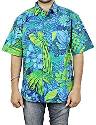 Indian Beach Wear Cotton Printed Fashion Accessory For Men Shirt Comfortable Airy