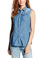 G-Star Blusa Tacoma Straight (Denim Claro)