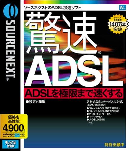驚速ADSL