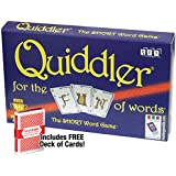 Quiddler Card Game with Free Deck of Cards