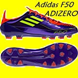 Adidas F50 Adizero TRX HG Mens Football Boots purple / yellow Uk 11.0