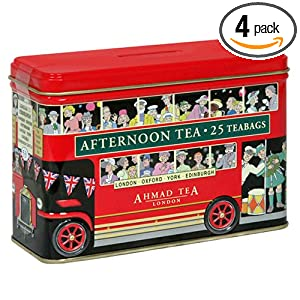 .Ahmad London Bus Tin, English Afternoon Tea