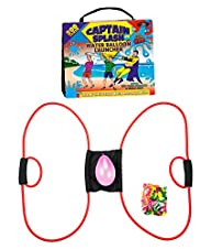 New* 200 Yard Water Balloon Launcher By Captain Splash, 150 Free Water Balloons And Carry Case, 3…