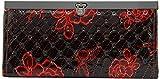 Louise & Harris Women's Wallet (Black & Red)