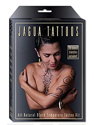 Jagua Black Temporary Tattoo