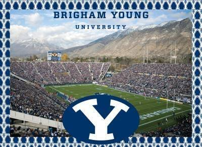 Brigham Young Cougars Jigsaw Puzzle