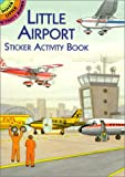 518NGM2AB4L. SL160  Little Airport Sticker Activity Book