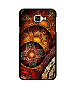 Crazymonk Premium Digital Printed Back Cover For Samsung Galaxy A9 Pro