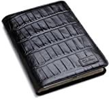 "Cole Haan Hand-Stained Patent Leather Croco Print Kindle Cover (Fits 2nd Generation, 6"" Display Kindle), Black"