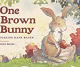 One Brown Bunny (0439680107) by Bauer, Marion Dane