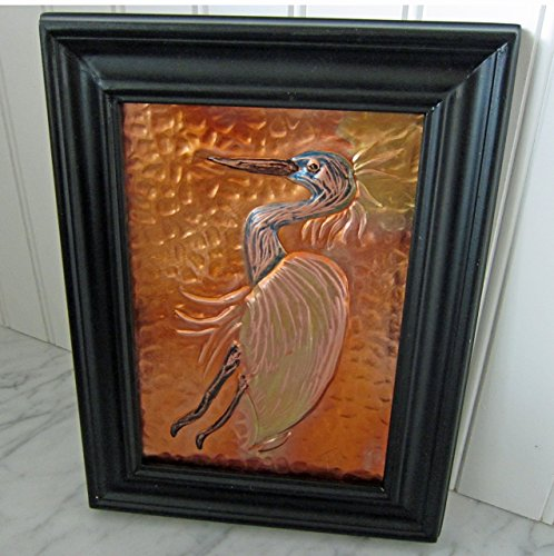 original-copper-hand-embossed-art-of-a-herron-owl-sitting-on-a-branch
