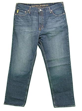 Nautica Jeans Company Mens Classic Fit Jeans, 30 x 32, Deck Wash