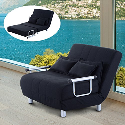 Admirable Cheap Price Homcom Double Sofa Bed Luxury Fabric Seat Dailytribune Chair Design For Home Dailytribuneorg